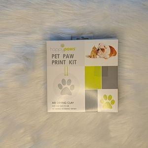 HAPPY PAWS cat paw print kit.